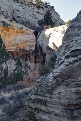 Upper Calf Creek Falls near Boulder, UT