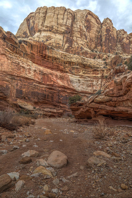 Grand Wash in Capitol Reef National Park