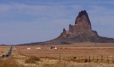 El Capitan near Monument Valley