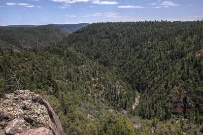 Sycamore Canyon near Garland Prairie