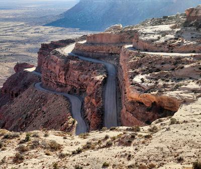 Moki Dugway in Utah