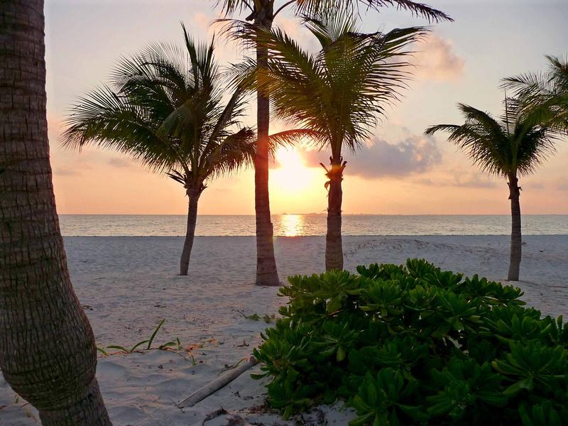 Sunrise in Cancun Mexico