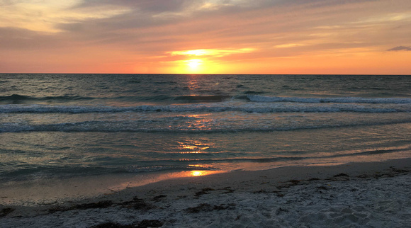 Sunset on Clearwater Beach, Florida