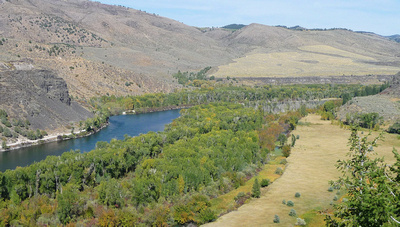 Snake River near Grand Teton National Park