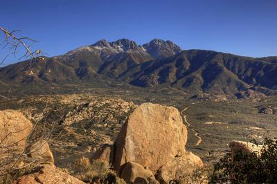 Four Peaks Trail near Fountain Hills, AZ
