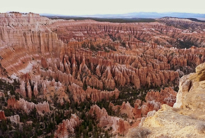 Bryce Point Lookout at Bryce Canyon National Park