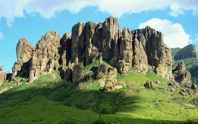 Superstition Mountains near Phoenix Arizona