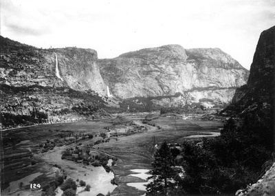 Hetch Hetchy Valley in the early 1900s
