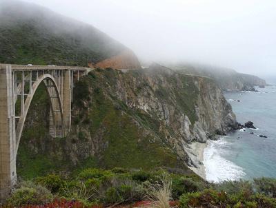 Bixby Creek Bridge near Big Sur